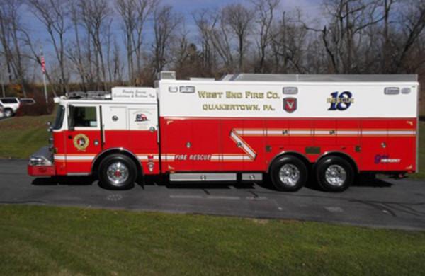 Pierce Custom Chassis Heavy Duty Walk-In Rescue