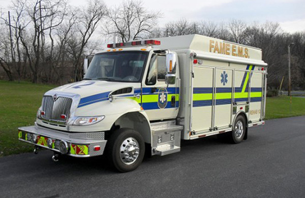 Commercial Multi-Purpose Fire Vehicle