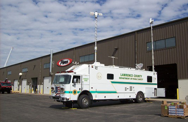 Custom Chassis Command Post Communications Vehicle