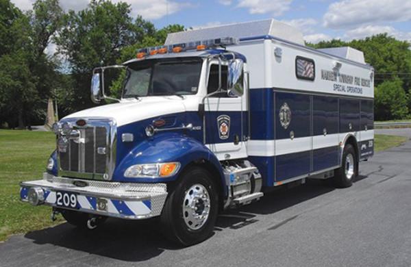 Commercial Heavy Duty Walk-In Rescue Truck