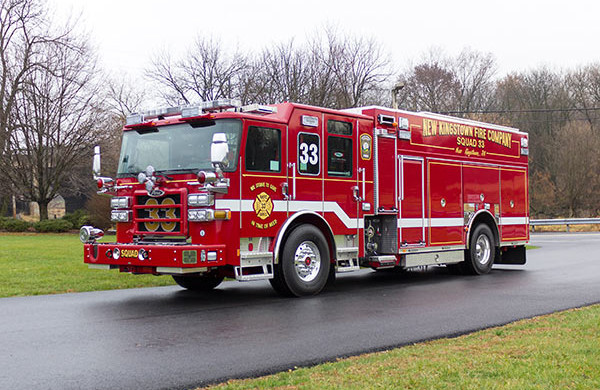 2016 Pierce Enforcer PUC rescue pumper - new fire engine sales - driver front