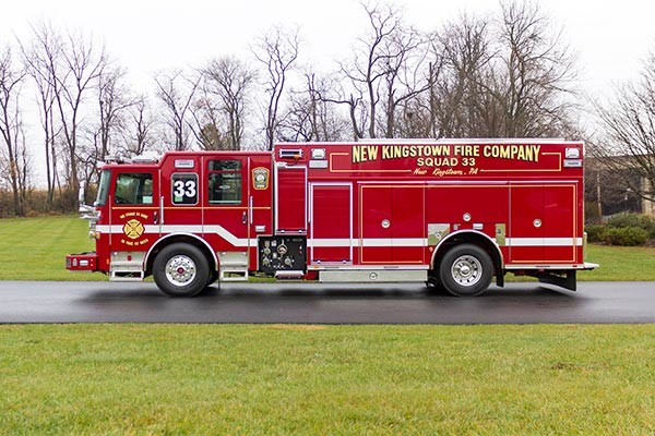 2016 Pierce Enforcer PUC rescue pumper - new fire engine sales - driver side