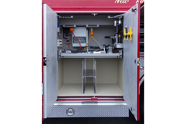 2016 Pierce Enforcer PUC rescue pumper - new fire engine sales - custom reel storage