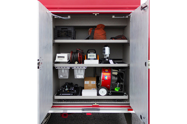 2016 Pierce Enforcer PUC rescue pumper - new fire engine sales - custom tool trays
