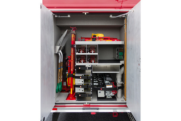 2016 Pierce Enforcer PUC rescue pumper - new fire engine sales - custom compartment organization