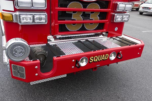 2016 Pierce Enforcer PUC rescue pumper - new fire engine sales - extended front bumper