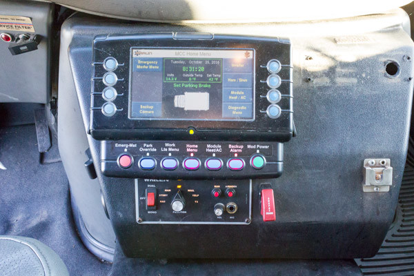 2005 used Braun Type III ambulance for sale - Glick Fire Equipment - MasterTech controls