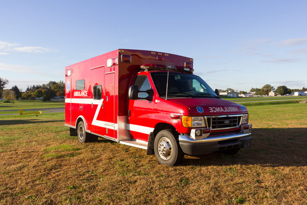 2005 used Braun Type III ambulance for sale - Glick Fire Equipment - passenger front