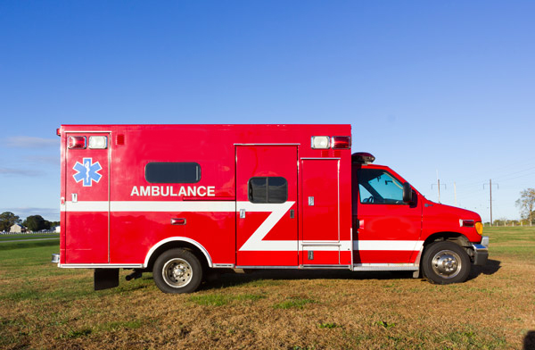 2005 used Braun Type III ambulance for sale - Glick Fire Equipment - passenger side