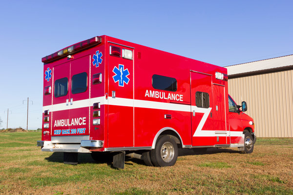 2005 used Braun Type III ambulance for sale - Glick Fire Equipment - passenger rear