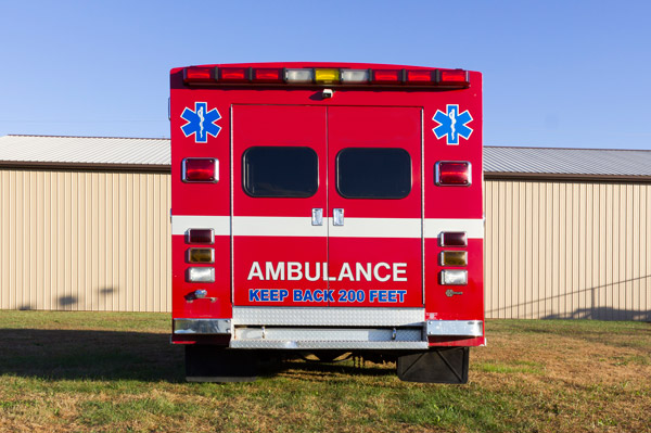 2005 used Braun Type III ambulance for sale - Glick Fire Equipment - rear