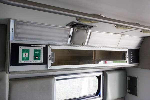 2005 used Braun Type III ambulance for sale - Glick Fire Equipment - module interior view 1