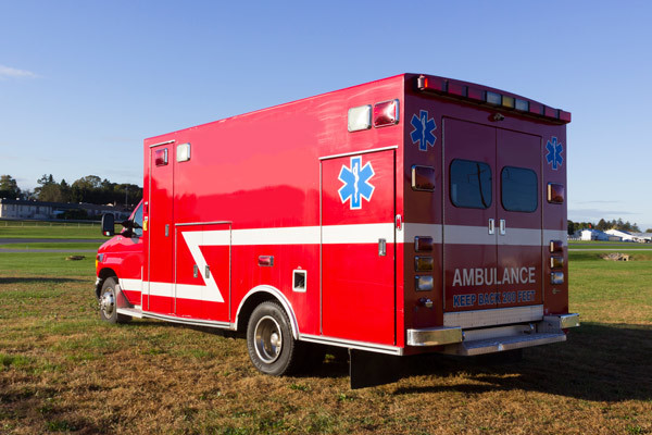 2005 used Braun Type III ambulance for sale - Glick Fire Equipment - driver rear