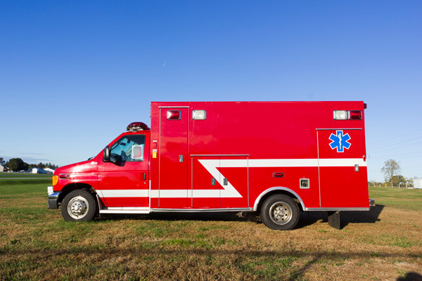 2005 used Braun Type III ambulance for sale - Glick Fire Equipment - driver side
