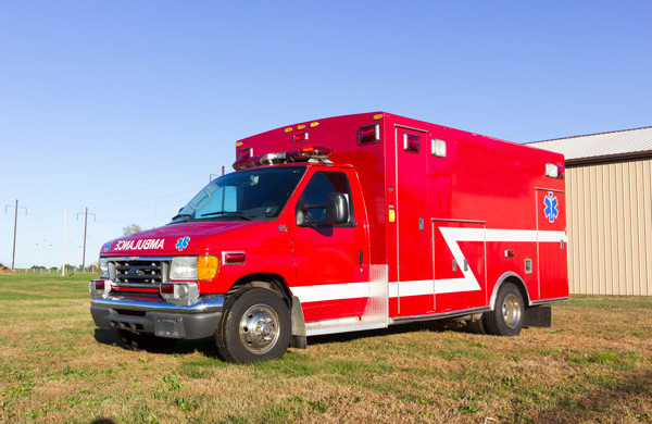 2005 used Braun Type III ambulance for sale - Glick Fire Equipment - driver front