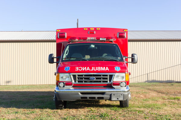 2005 used Braun Type III ambulance for sale - Glick Fire Equipment - front