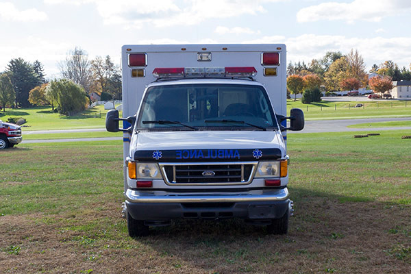 used Type III ambulance for sale - 2004 AEV - front