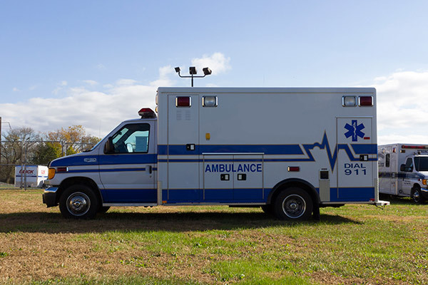 used Type III ambulance for sale - 2004 AEV - driver side