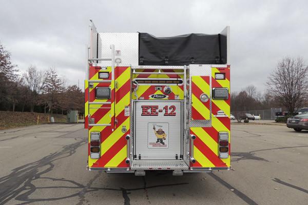 new rescue fire engine sales - 2016 Pierce Enforcer - rear