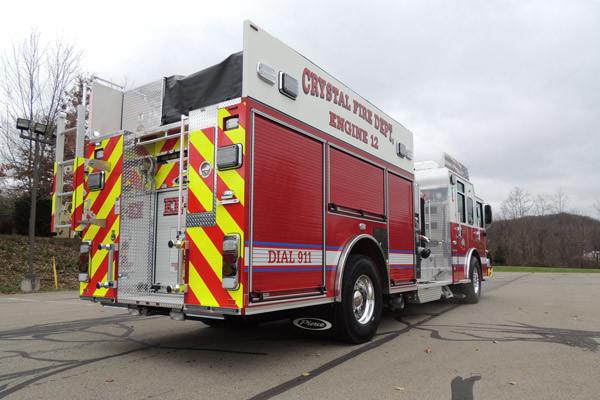 new rescue fire engine sales - 2016 Pierce Enforcer - passenger rear
