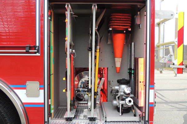 custom tool mounting - new rescue fire engine sales - 2016 Pierce Enforcer