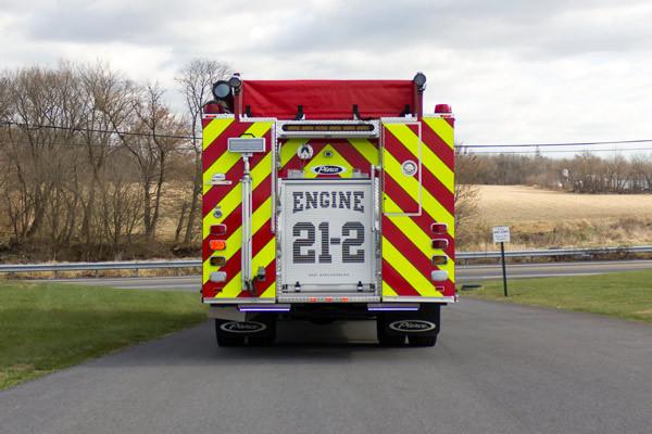 new fire pumper sales - 2017 Pierce Velocity - rear