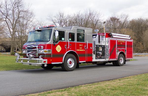 new fire pumper sales - 2017 Pierce Velocity - driver front