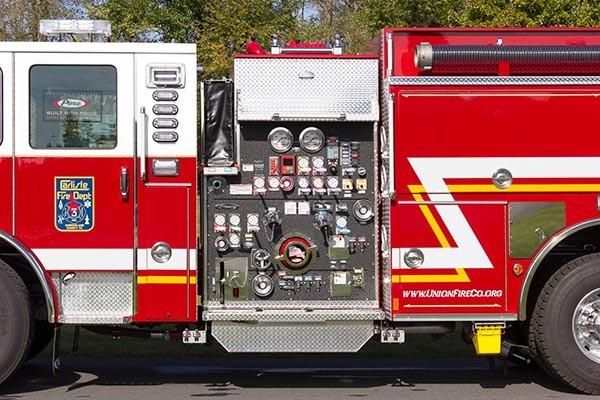 2016 Pierce Enforcer fire engine - new pumper sales - pump panel