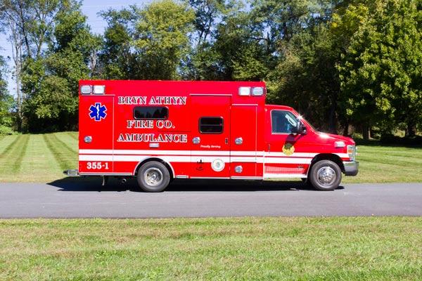 2016 Braun Chief XL Type III ambulance - new ambulance sales in PA - passenger side