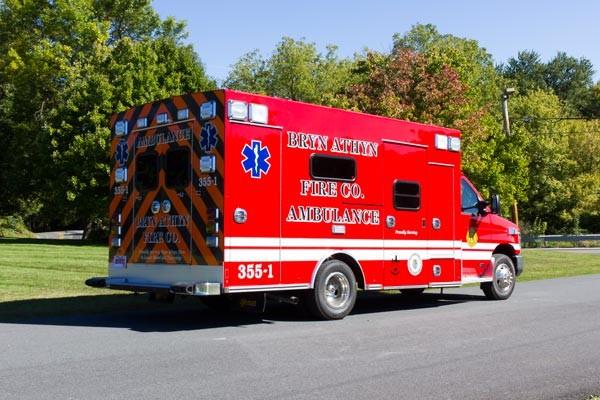 2016 Braun Chief XL Type III ambulance - new ambulance sales in PA - passenger rear