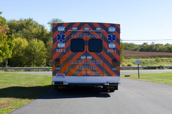 2016 Braun Chief XL Type III ambulance - new ambulance sales in PA - rear