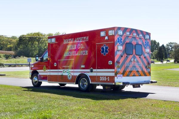 2016 Braun Chief XL Type III ambulance - new ambulance sales in PA - driver rear