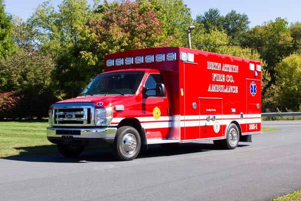 2016 Braun Chief XL Type III ambulance - new ambulance sales in PA - driver front