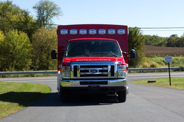 2016 Braun Chief XL Type III ambulance - new ambulance sales in PA - front