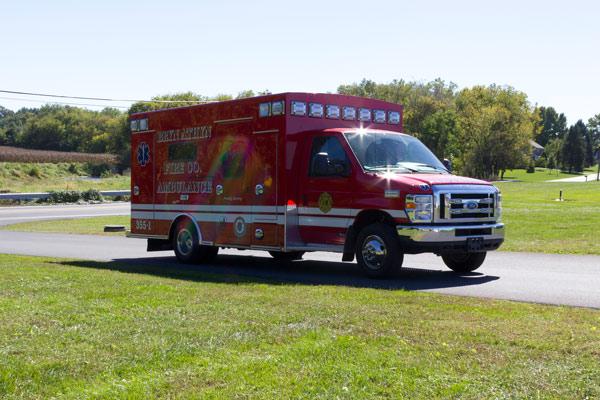 2016 Braun Chief XL Type III ambulance - new ambulance sales in PA - passenger front
