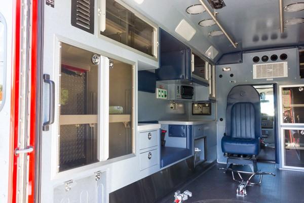 2016 Braun Chief XL Type III ambulance - new ambulance sales in PA - module interior driver side