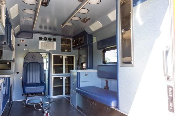 2016 Braun Chief XL Type III ambulance - new ambulance sales in PA - module interior passenger side