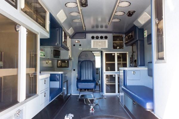 2016 Braun Chief XL Type III ambulance - new ambulance sales in PA - module interior overall