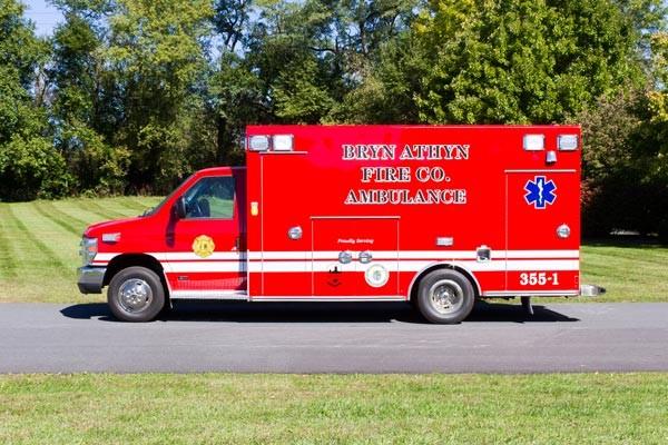 2016 Braun Chief XL Type III ambulance - new ambulance sales in PA - driver side