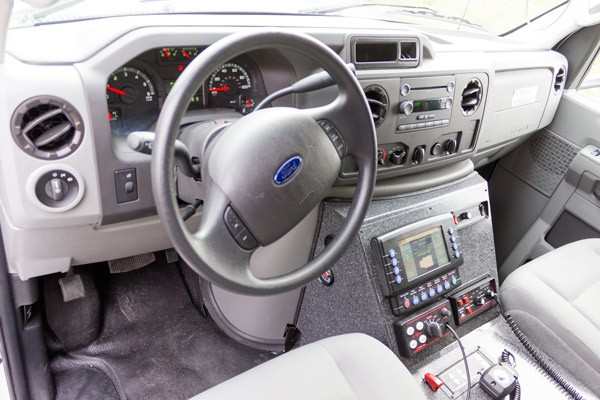 2016 Braun Chief XL Type III - new ambulance sales in Pennsylvania - cab interior MasterTech controls
