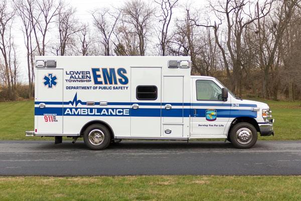 2016 Braun Chief XL Type III - new ambulance sales in Pennsylvania - passenger side