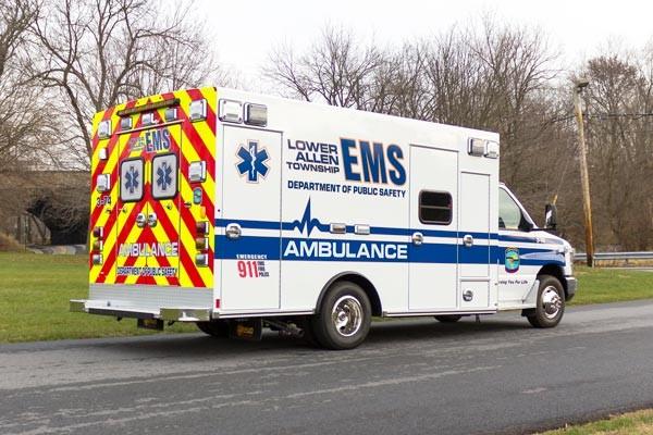 2016 Braun Chief XL Type III - new ambulance sales in Pennsylvania - passenger rear