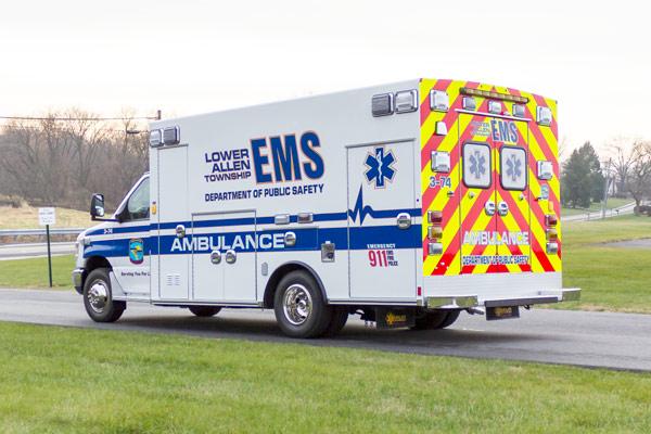2016 Braun Chief XL Type III - new ambulance sales in Pennsylvania - driver rear