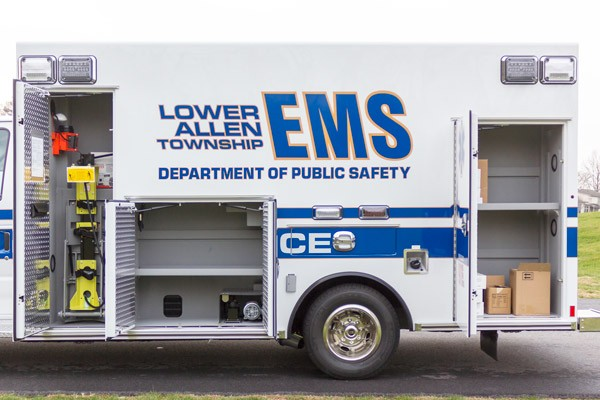 2016 Braun Chief XL Type III - new ambulance sales in Pennsylvania - driver side compartments