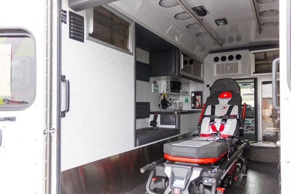 2016 Braun Chief XL Type III - new ambulance sales in Pennsylvania - module interior driver side
