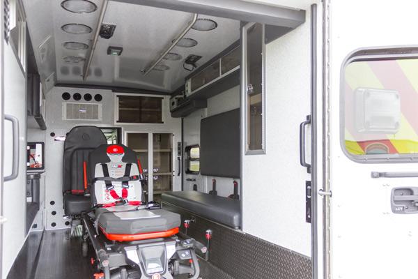 2016 Braun Chief XL Type III - new ambulance sales in Pennsylvania - module interior passenger side