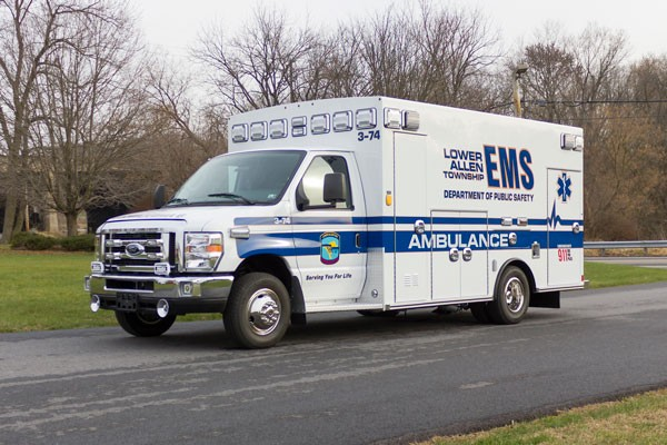 2016 Braun Chief XL Type III - new ambulance sales in Pennsylvania - driver front