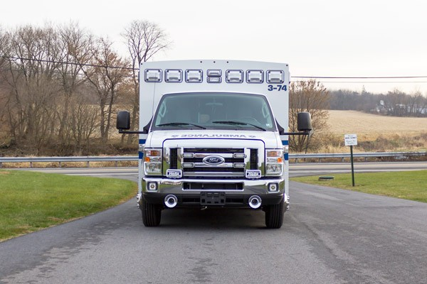 2016 Braun Chief XL Type III - new ambulance sales in Pennsylvania - front