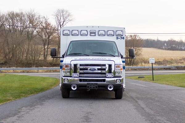 2016 Braun Chief XL Type III - new ambulance sales in Pennsylvania - front