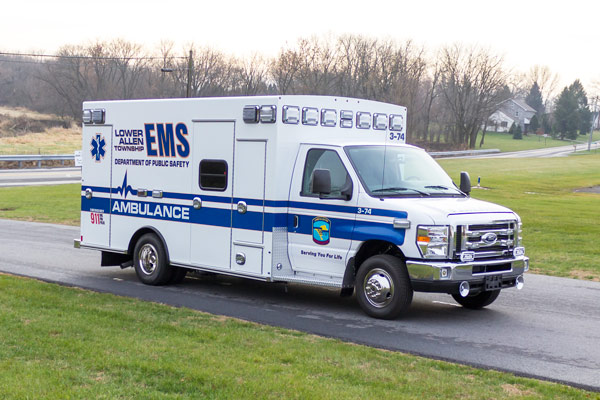 2016 Braun Chief XL Type III - new ambulance sales in Pennsylvania - passenger front